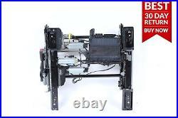00-06 Mercedes W220 S430 Front Left Seat Track Belt Buckle & Control Module A22