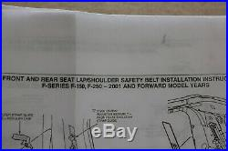 02-03 F-150 Front Seat Belt Buckle-Retractor Assy Left OEM Ford New Old Stock