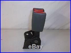 02 03 GMC Envoy SLT Left & Center Rear Seat Belt Buckle Latch Pair Assembly