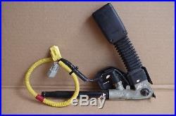 02-06 Acura Rsx Front Driver Side Left Lh Srs Seat Belt Buckle Receiver Black #2