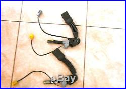 02 FORD F-250 OEM Front Seat Belt-Buckle Tensioner Right and Left Complete Set