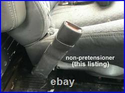 03-10 Chevy Express Gmc Savana Lf Driver Seat Belt Buckle Latch Receiver Tan