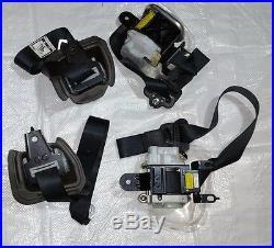 04 05 06 07 08 Rx8 OEM Black SEAT BELT BUCKLE RETRACTOR Front Rear RH LH set 13b
