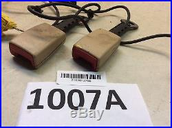 04 05 06 07 Volkswagen Touareg Front Left And Right Seat Belt Buckle Oem J 1005a