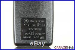 05-11 Mercedes R171 Slk280 Front Left Driver Side Seatbelt Seat Belt Buckle Oem