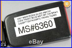 06-12 Mercedes X164 GL450 ML550 Front Left Driver Side Seat Belt Buckle OEM