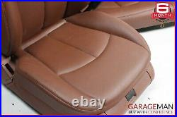 07-09 Mercedes W211 E350 Complete Front & Rear Seat Seats Assembly Set OEM