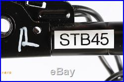 07-09 Mercedes W211 E350 E550 Front Right Passenger Seat Belt Buckle Black OEM