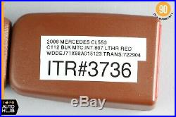 07-09 Mercedes W221 CL550 S550 Seat Belt Buckle Front Right Passenger OEM