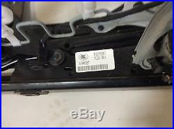 07-10 BMW SEDAN E90 OEM RIGHT FRONT LOWER SEAT TRACK FRAME With BELT BUCKLE OEM M