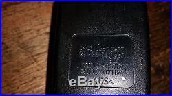 07-12 Mercedes W221 S550 S600 S63 Front Right Passenger Seat Belt Buckle Black