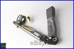 07-13 Mercedes W221 S550 CL550 Front Left Driver Seat Belt Buckle Black OEM