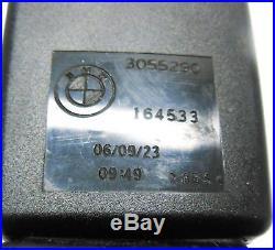 07-14 Bmw E70 E71 X5 X6 Right Front Passenger Seat Belt Buckle Receiver (black)
