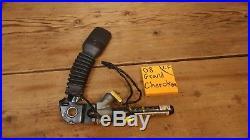 08 jeep grand cherokee LF LEFT FRONT seat belt buckle OEM black DRIVER receiver