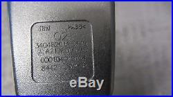 09-11 Mercedes W219 CLS550 CLS63 SEAT BELT BUCKLE PRETENSIONER LEFT DRIVER 1016