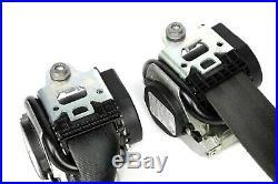 09-17 VW Volkswagen CC Front Seat Belt Retractor Black Left & Right Set OEM