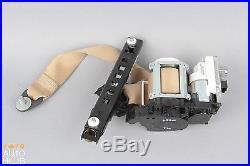 10-13 Mercedes W221 S550 Front Left Seatbelt Seat Belt Buckle Tan 2218609785 Oem