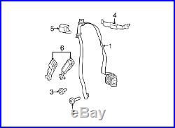 11-18 Jeep Wrangler Jk Front Right Inner Seat Belt Buckle End Mopar 1rh741x9ab