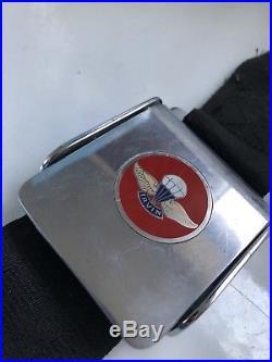 1960s Irving Air Chute IC-5000 Seat Belt Buckle Corvette Sunbeam Tiger