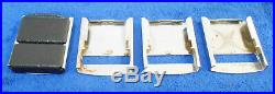 1964 1965 Mustang Fastback Coupe GT Convertible DELUXE SEAT BELT BUCKLE CHROME