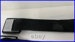 1966 Robbins Gm Lap Seat Belt Black Buckle Jr 6617 6611 Oem