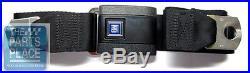 1967-72 GM Black Standard Lap Seat Belt With GM Plastic Buckle