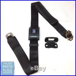 1967-72 GM Cars Shoulder Harness With Black Plastic Buckle Webbing Seat Belt
