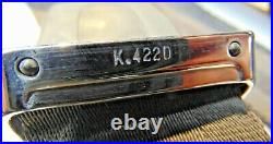 1967 Jaguar XKE Kangol K 422D 422J Seat Belt Buckles-Nice Set Ready For Prep -S3