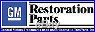 1968-72 Malibu & Chevelle Center Console Seat Belt Buckle Holders Pockets Pair