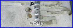 1968 Cadillac Eldorado Seat Belt Buckle Male & Female Receiver RCF65 8 Pc Lot 68