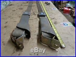 1968 Gmc Gray Seat Belt Buckle Retractor Left Right Chevy Pickup Truck 1971 Oem