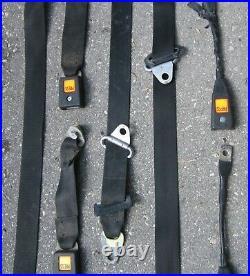 1977 BMW 530i E12 Repa Seat Belt Lot of Belts Buckle Retractor Used Orig E21 E23