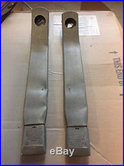 1978-1987 Grand National T-Type FRONT BUCKET Seat Belt Buckle Latch Trim CONSOLE