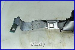 1979-1989 Ford Mustang Fox Body Rear LH Seat Belt Retractor + Buckle Blue OEM