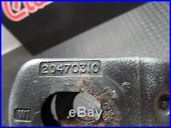1982-1992 Camaro Firebird Trans-am Seat Belt Buckle Receiver Black Pair