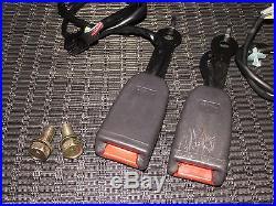 1994-1997 Mitsubishi 3000GT OEM Front Seat Belt Buckle Set