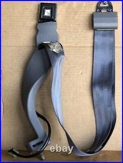 1994 Ford F-150 Drivers Bucket Seat Belt Buckle Receiver Latch Light Gray