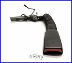 1996 Bmw (e36) Z3 Left Front Driver Seatbelt Seat Belt Buckle Receiver (black)