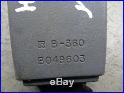 1996 Toyota Land Cruiser Front Seat Belt Buckle Receiver Left Driver Gray Oem