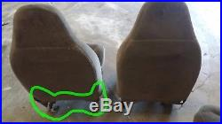 1999-2002 Ford Expedition Seat Front Left Driver Track Rail Oem