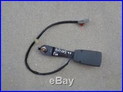 1999 Honda Odyssey Front Seat Belt Buckle Receiver Left Driver Side Gray Oem