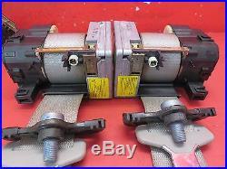 2000-2006 MERCEDES-BENZ S500 W220 OEM REAR BENCH SEAT BELT/BUCKLE SET GRAY COLOR