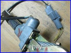 2001 Ford Ranger Passenger Side Front Seat Belt Buckle pretensioner OEM