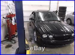 2002 02 JAGUAR X-TYPE FRONT LEFT DRIVERS SEAT BELT BUCKLE RECEIVER