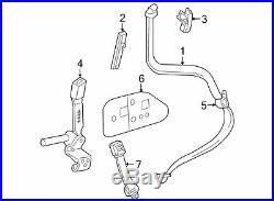 2002-2003 Ford Explorer Front Left Seat Belt Buckle End OEM 1L2Z-7861203-AAC