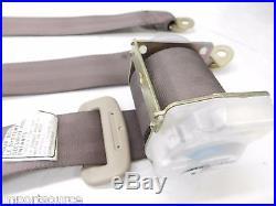 2003-2008 TOYOTA COROLLA OEM REAR PASSENGER SEAT BELT BUCKLE & RETRACTOR SET