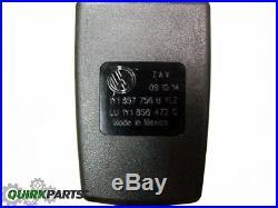 2003 VW Volkswagen Beetle CONVERTIBLE Passenger Side Seat Belt Buckle OEM NEW