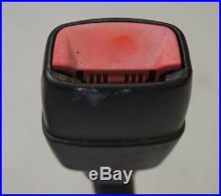 2005-2013 Chevy Corvette C6 Left LH Driver Side Seat Belt Buckle Black 19151074