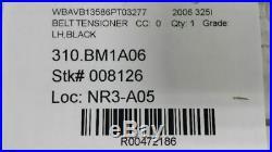2006 BMW 325i Driver Seat Belt Buckle Pretensioner