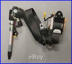 2007 2008 Honda FIT OEM Front Left Driver SEAT BELT & BUCKLE RETRACTOR Black